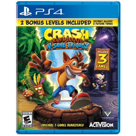 Crash N. Sane Trilogy, Activision, PlayStation 4, 047875880801 ()