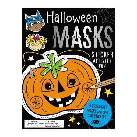 Sticker Activity Books Halloween Masks Sticker Activity - Church Youth Activities For Halloween