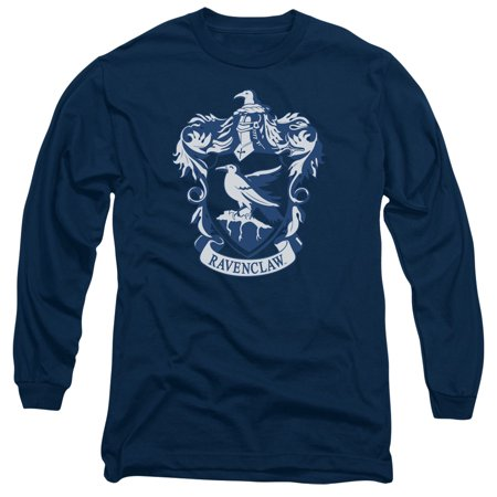 Trevco HARRY POTTER RAVENCLAW CREST Navy Adult Unisex - Harry Potter T Shirt
