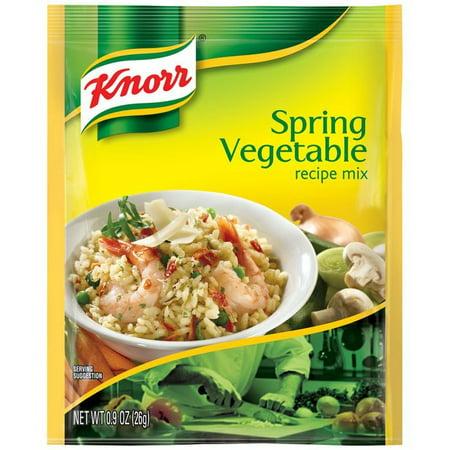 (6 Pack) Knorr Spring Vegetable Recipe Mix, 0.9