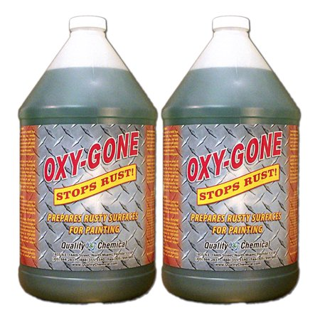 Oxy-Gone Rust Remover & Metal Treatment - 2 gallon