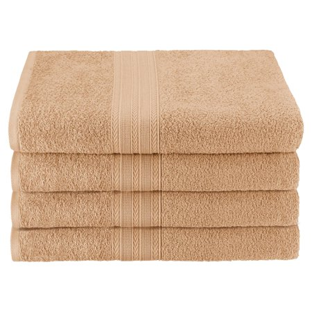 Superior Eco-Friendly 100% Ringspun Cotton 4Pc Bath Towel (Best Superior Bath Towel Sets)