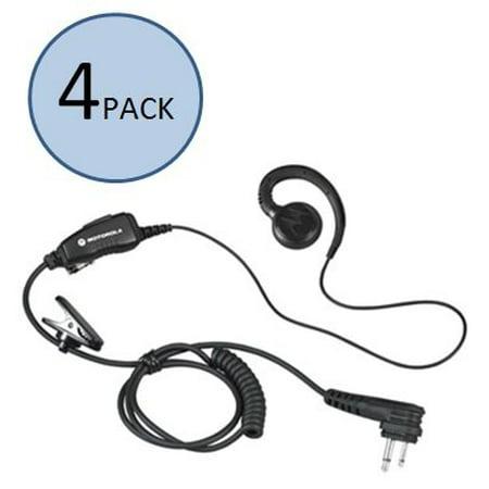 Motorola HKLN4604 C-Shaped Earpiece (4 Pack)
