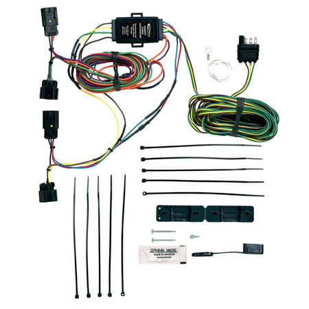 hopkins towing solution 56106 plug-in simple towed vehicle wiring kit