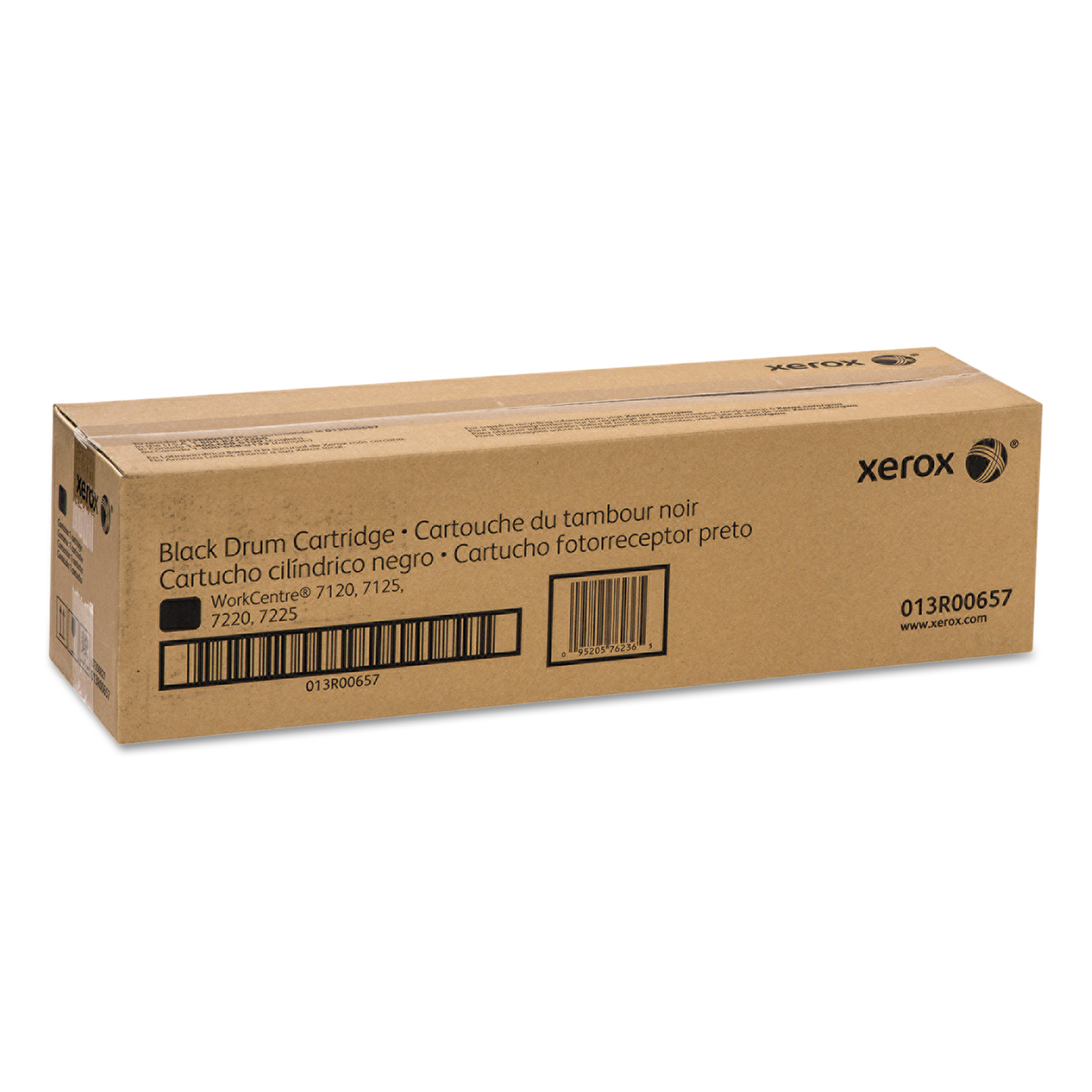 Xerox 013R00657 Drum, 67000 Page-Yield, Black by Xerox