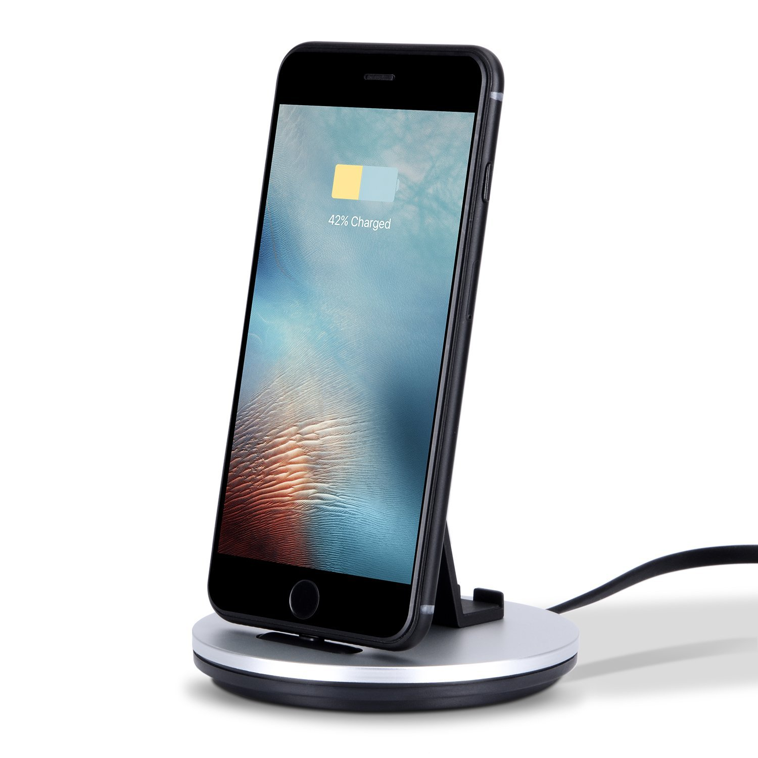 EREACH iPhone Charging Stand, Lightning Dock Charging Sta...