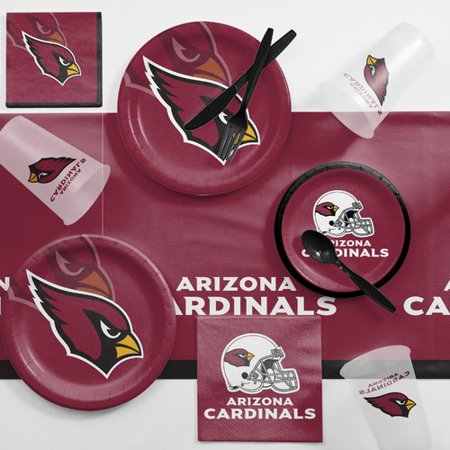 Arizona Cardinals Game Day Party Supplies Kit (Arizona Cardinals Party Supplies)