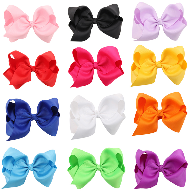 16Pcs Hair Barrettes, Coxeer Multicolor Non-slip Simple Design Hair Bows Hair Pins Hair Accessories for Baby Girls Kids Teens Toddlers Children