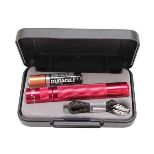Maglite Solitaire LED Flashlight Solitaire LED 1AAA - RED