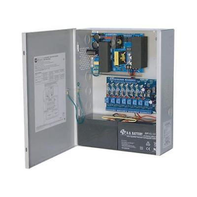 Altronix 8 Fused Outputs Power Supply-Access Power Controller, 12VDC, 10A