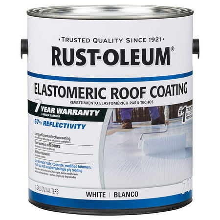 Rust Oleum 301904 7 Year Elastomeric Roof Coating White