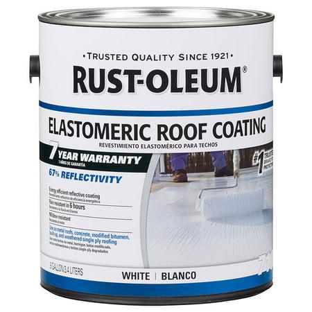 Rust Oleum Elastomeric Roof Coating 301904 White 1