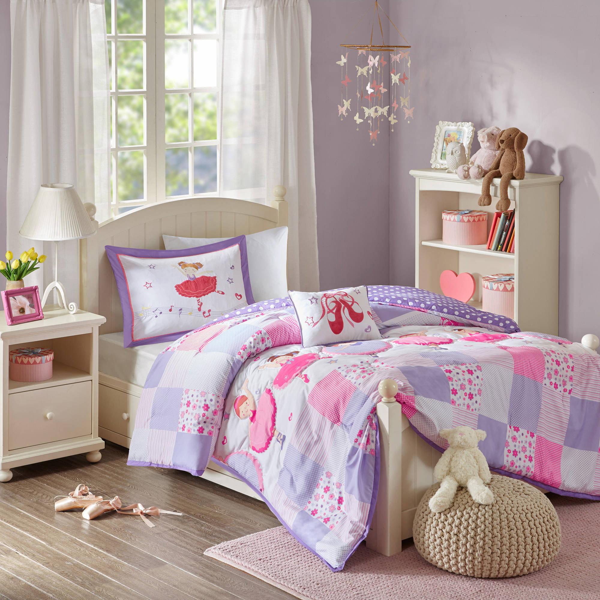 Home Essence Kids Ballet Shoes Comforter Bedding Set