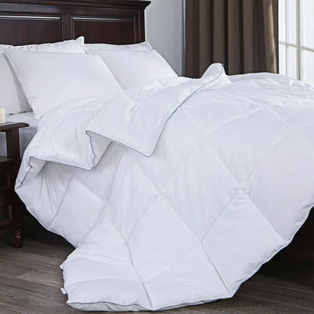 Puredown Down Alternative Comforter, Duvet Insert, White -