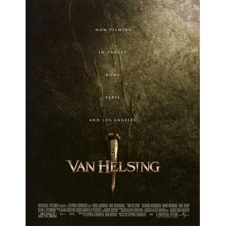 Van Helsing Movie Poster Print  27 X 40