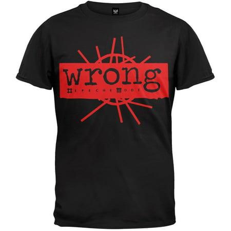 Depeche Mode   Wrong Peace Soft T Shirt