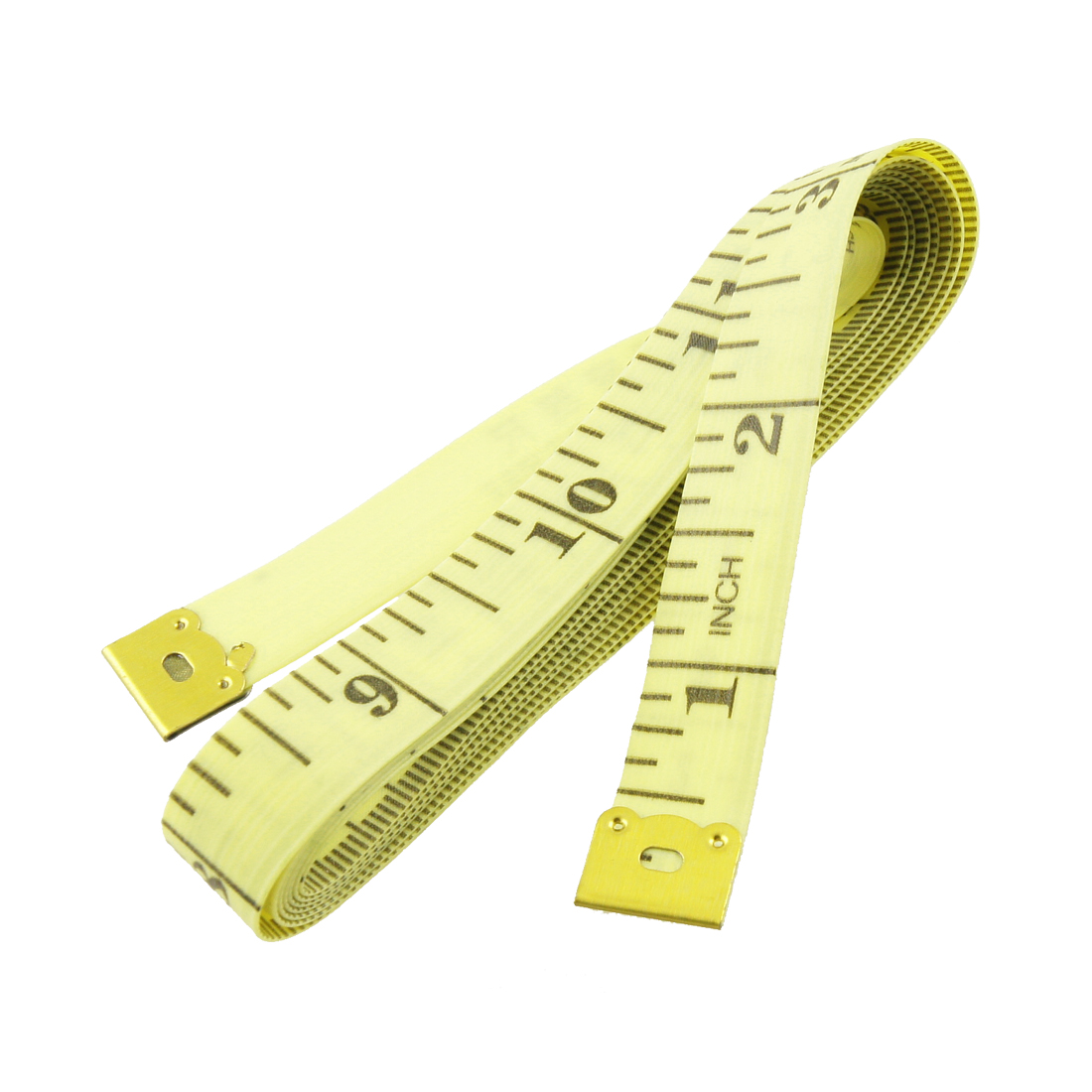 Unique Bargains 60-Inch Inch/Metric Tape Measure Tailor Sewing Cloth Ruler