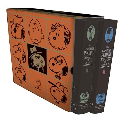 Complete Peanuts: The Complete Peanuts 1983-1986 Gift Box Set (Hardcover)