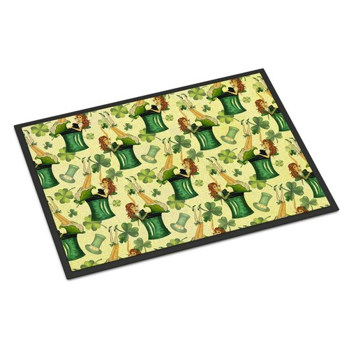 The Holiday Aisle Precita St Patrick's Day Party Doormat