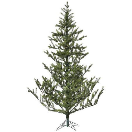 Vickerman A175556LED 5.5 ft. x 48 in. Creekside Green Spruce Christmas Tree with 550 Warm White Dura LED Light - image 1 de 1