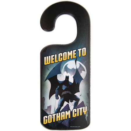 Batman and Joker Wood Door Hanger Wall Decoration Kids Room Decor](Joker Decorations)