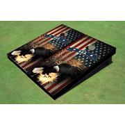 American Bald Eagle Themed Cornhole Board set