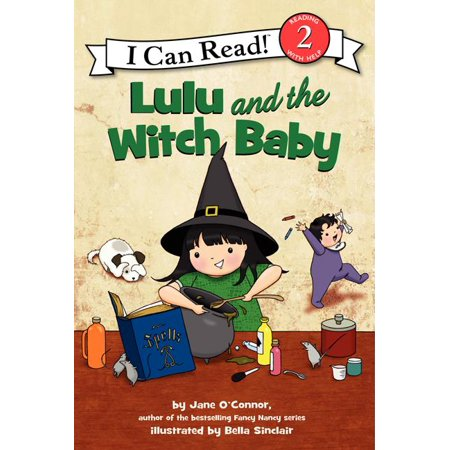 Baby Lulu At Halloween (I Can Read Level 2: Lulu and the Witch Baby)