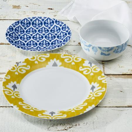 Turkish 12-Piece Round Porcelain Dinnerware Set Now $17.75 (Was $44.99)