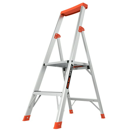 Little Giant Flip-N-Lite M4 Aluminum Type 1A, 300 lbs Rated, Platform Step Ladder