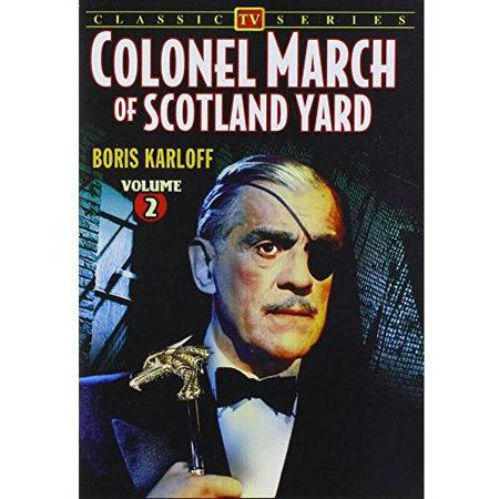 Colonel March Of Scotland Yard: Volume - 4-Episode Collection