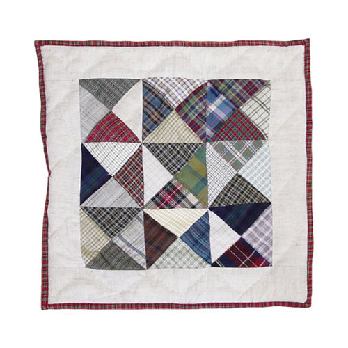 Patch Magic Kaleidoscope Cotton Throw Pillow