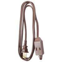 09401ME 16-2 Brown Extension Cord - 6 ft.