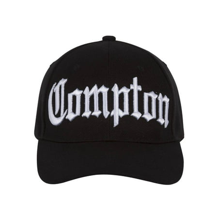 Compton Costume Kit (Includes curved bill hat and black sunglasses)