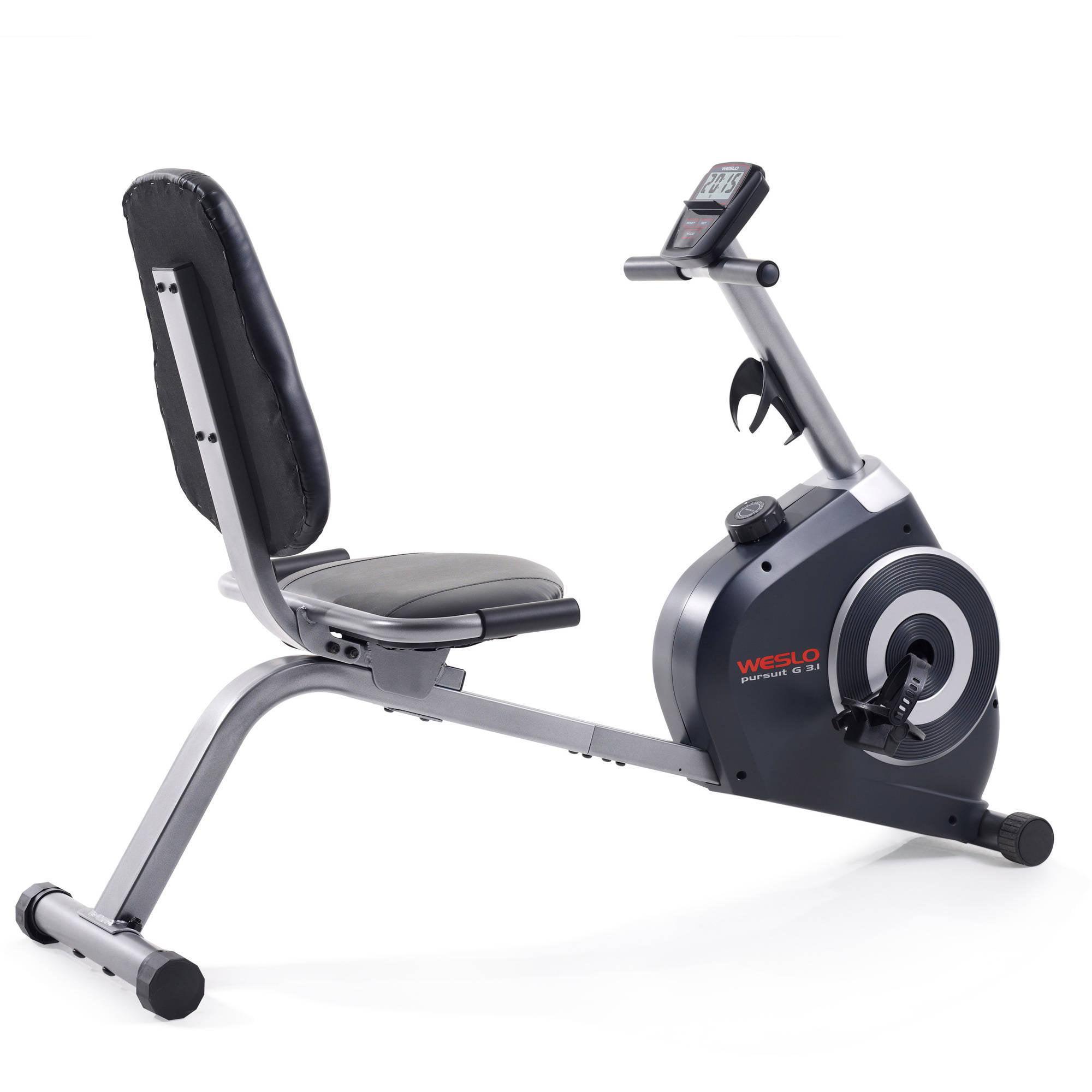 Weslo exercise bike walmart