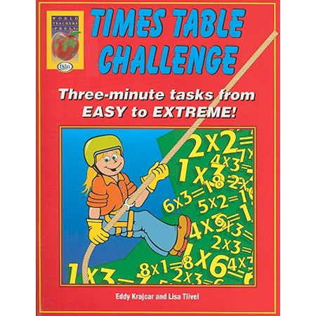 Times Table Challenge : Three-Minute Tasks from Easy to Extreme!](Halloween Times Tables Worksheet)