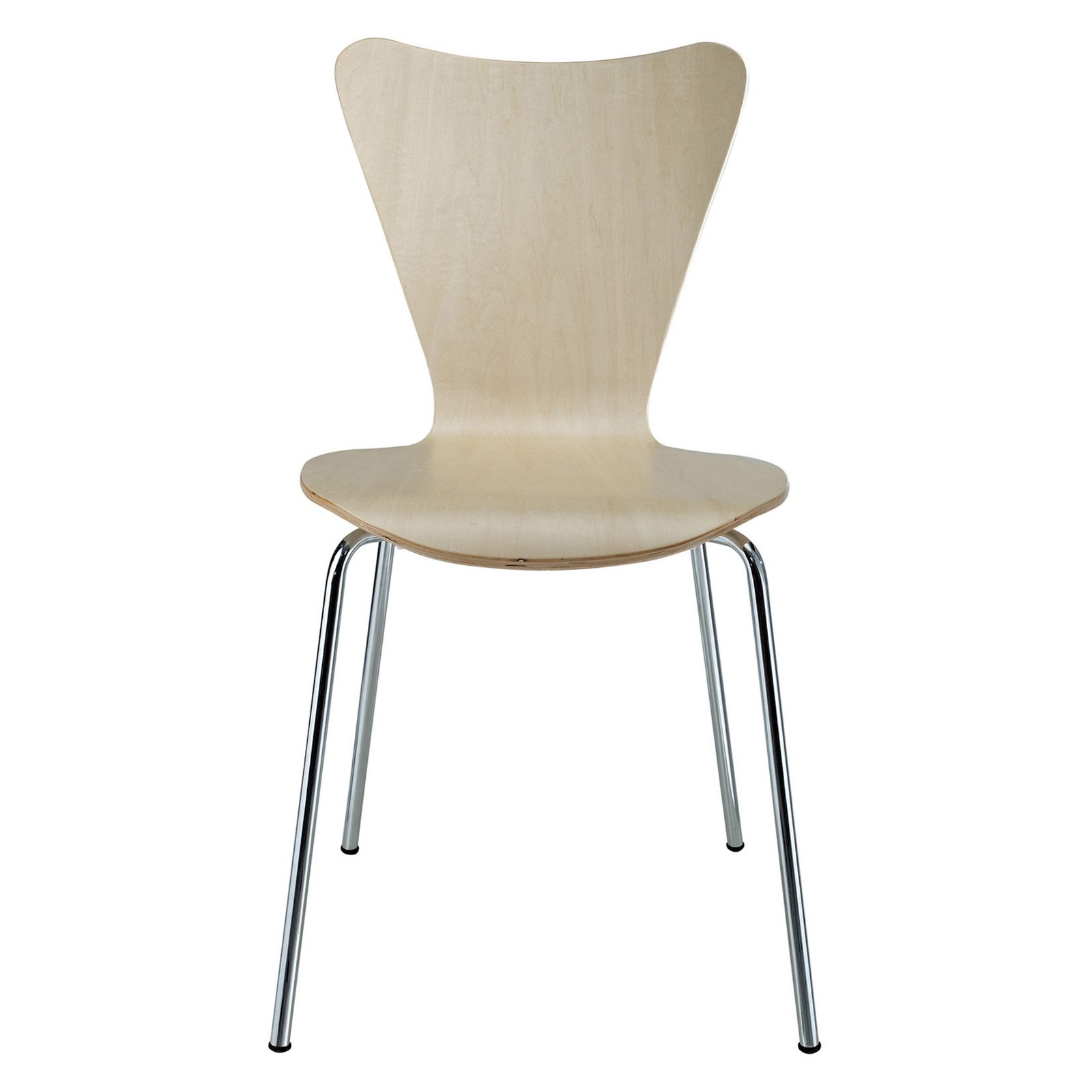 Modway Ernie Dining Side Chair with Chrome Legs Multiple Colors