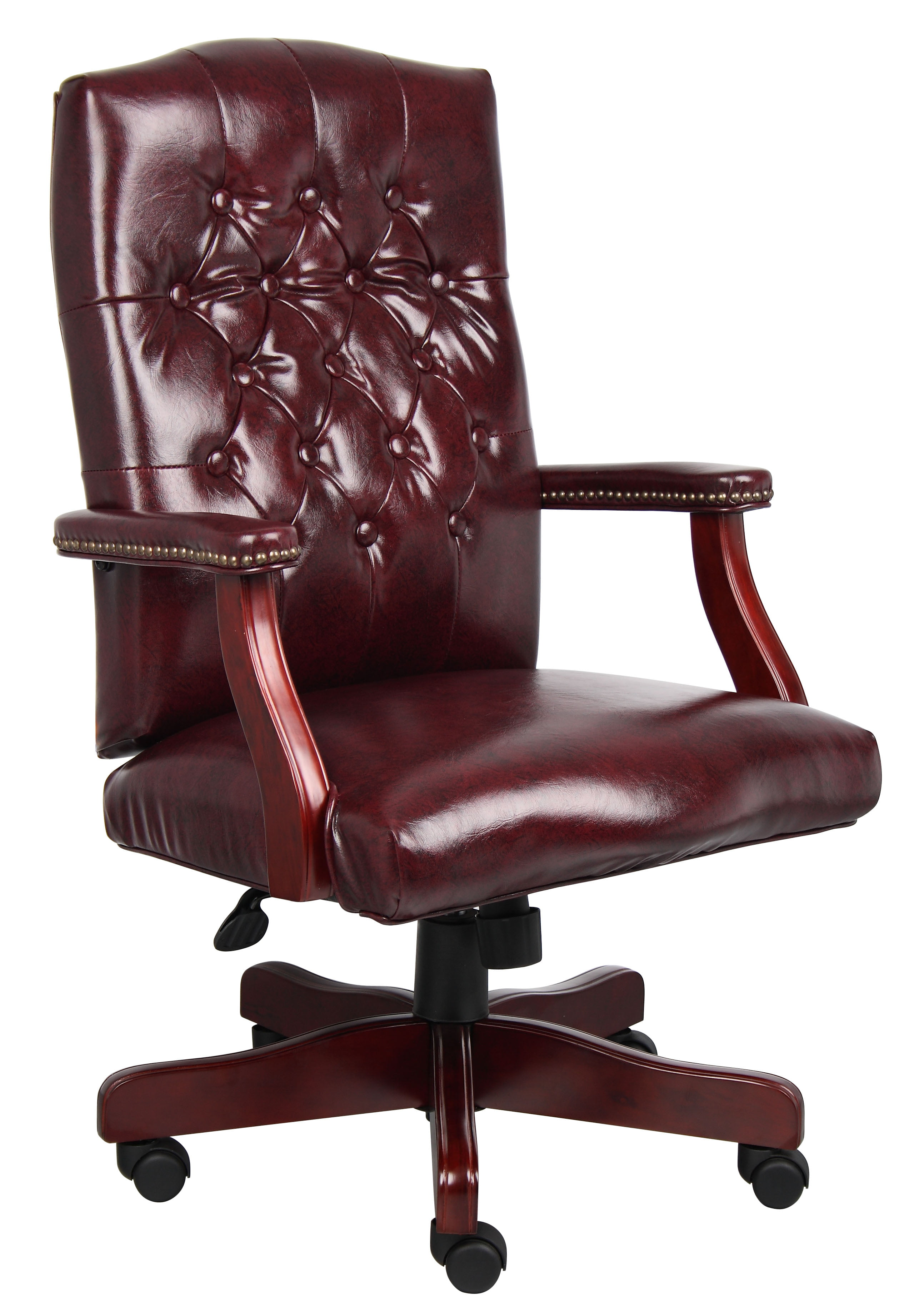 Boss Office Home Traditional High Back Executive Swivel Chair