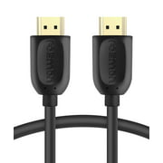 Fosmon HDMI Cable 25FT, High Speed Gold Plated HDMI Cable Cord [Ultra HD 4K 1080p 3D Ethernet Audio Return] for HDTV, DVD, BLURAY, Monitor, PS3 PS4, xBox One X S
