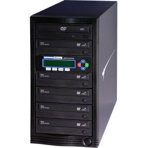 DVD DUPLICATOR 1 TO 5 24X LIGHTNING FAST COPIES OF DVDS & CDS
