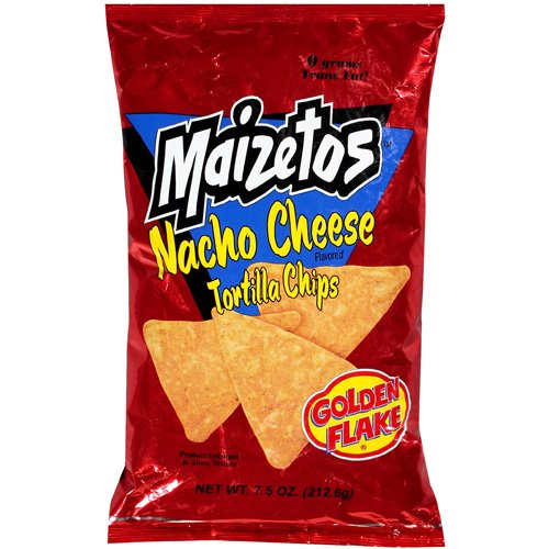 Golden Flake Gf Nachos Cheese Tortillas 7.5 Oz