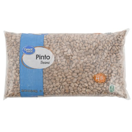 (2 Pack) Great Value Pinto Beans, 64 - Bulk Beans Pin To Beans