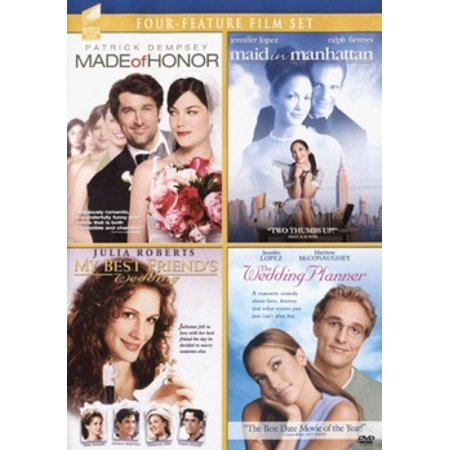 Made Of Honor / Maid In Manhattan / My Best Friend's Wedding / The Wedding Planner