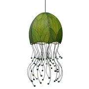 Jellyfish Hanging Lamp in Green
