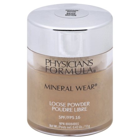 Physicians Formula Mineral Wear Loose Powder SPF 16, Medium