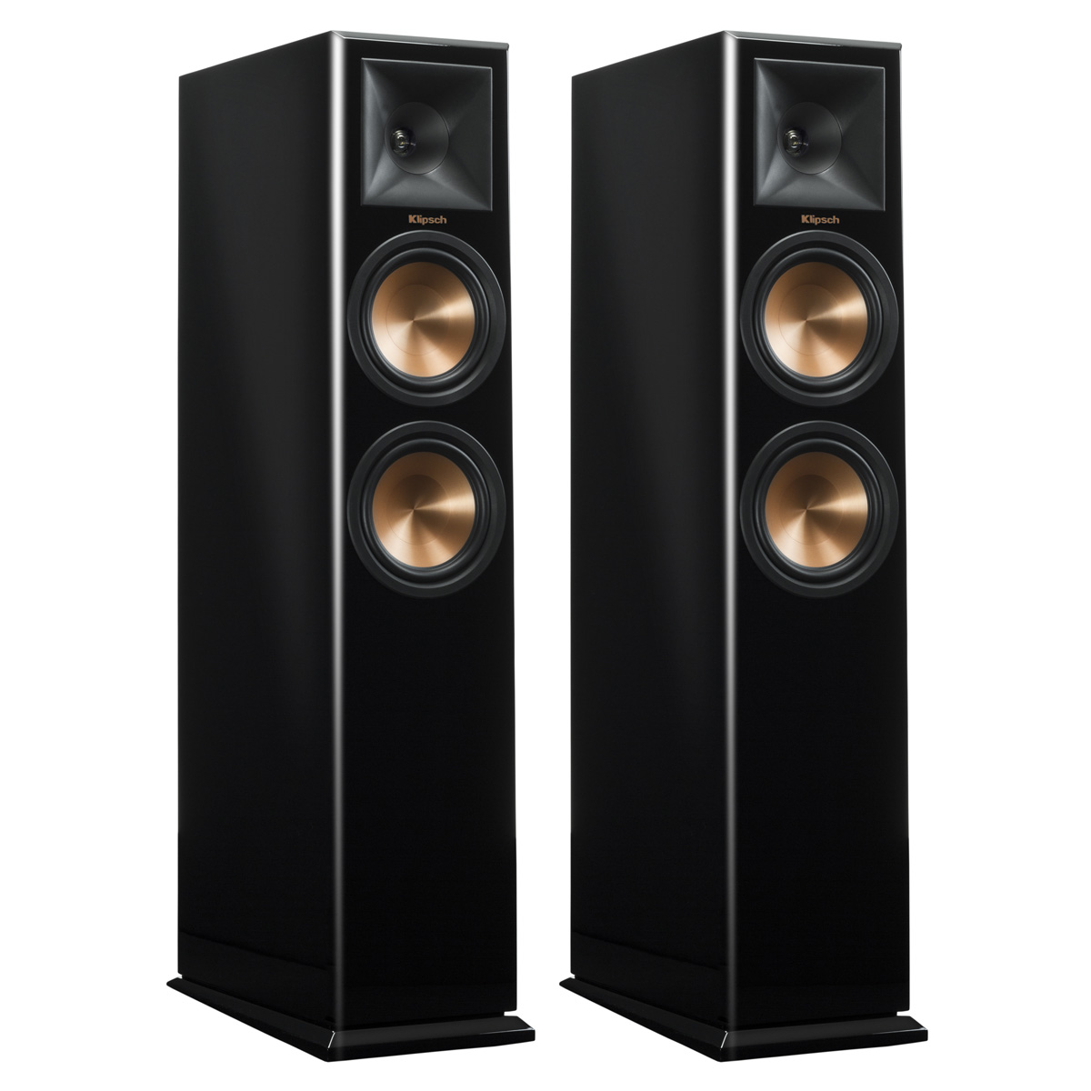 Klipsch RP-260F Reference Premiere Floorstanding Speakers with Dual 6.5 inch Cerametallic Cone Woofers Pair (Piano... by Klipsch