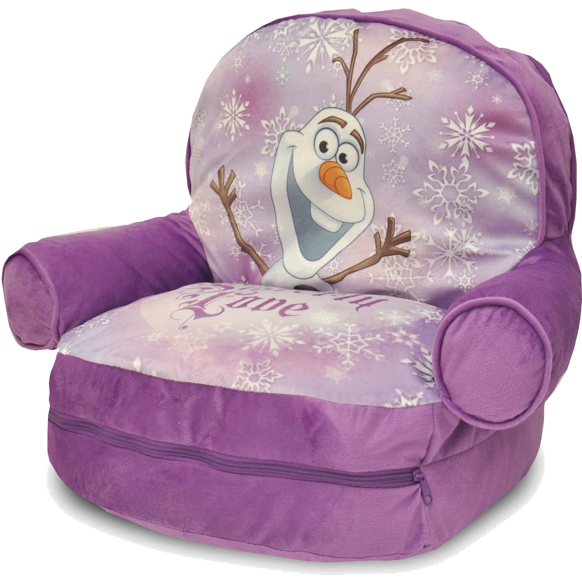 Disney Frozen Bean Bag With BONUS Slumber Walmart