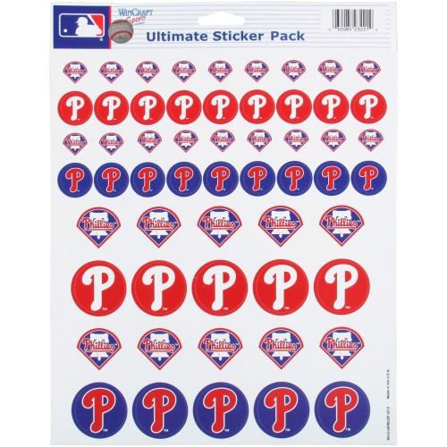 Philadelphia Phillies 8.5'' x 11'' Sticker Sheet - No Size