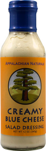 Appalachian Naturals Salad Dressing Gluten Free Creamy Blue Cheese -- 12 fl oz pack of 1 by Appalachian Naturals