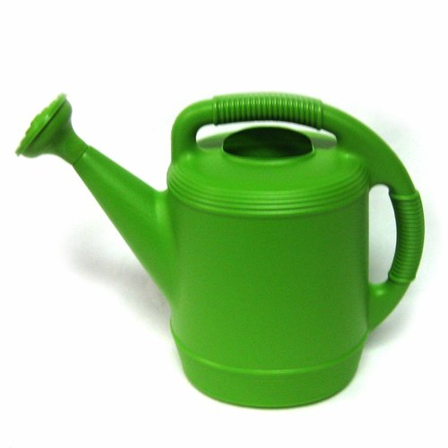 2 Gal Plastic Watering Can, Spicy Lime by Missry Associates