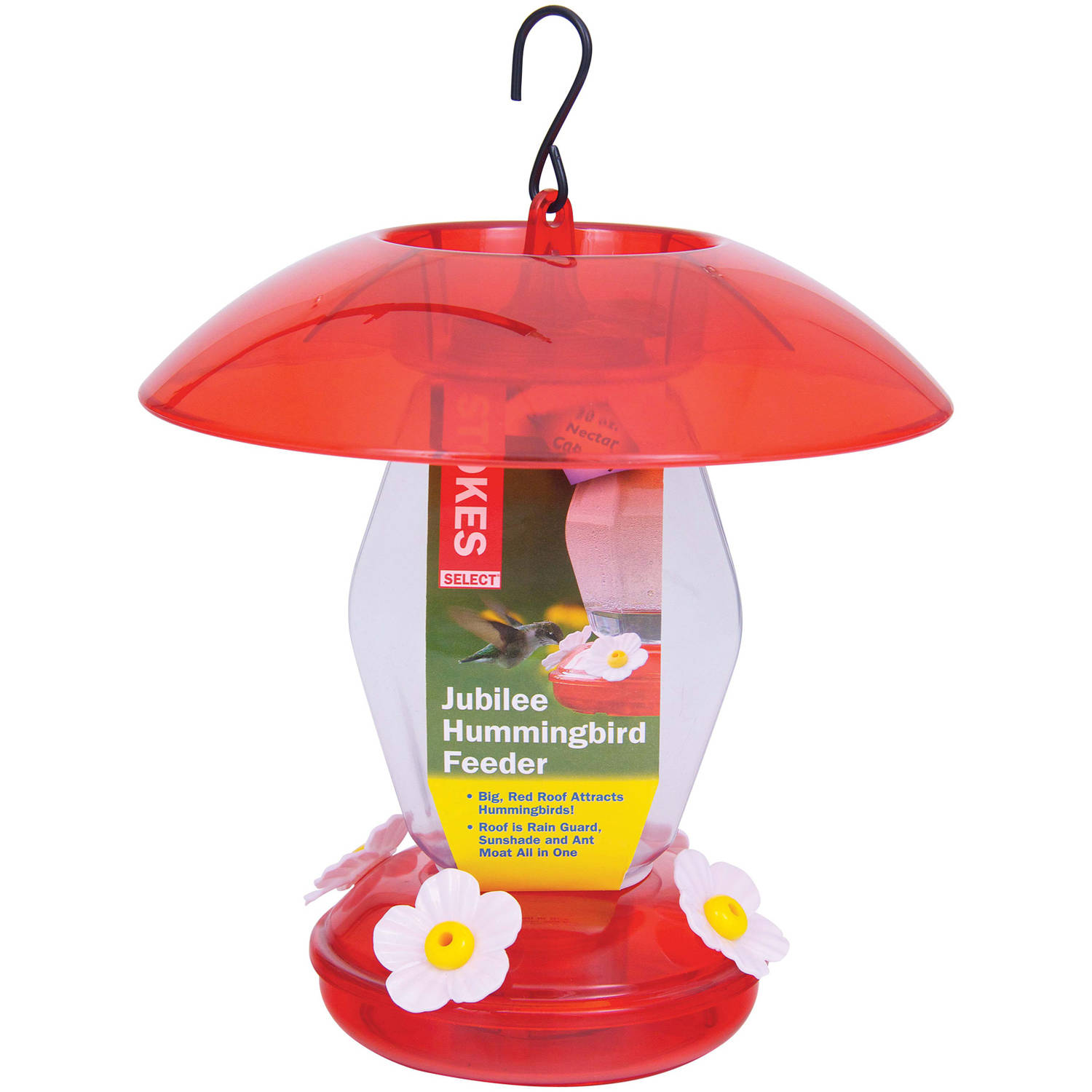 Hiatt Manufacturing HIATT38139 Jubilee Hummingbird Feeder Red 20 oz